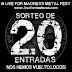 Sorteo 20 entradas para el Live For Madness Metal Fest!!