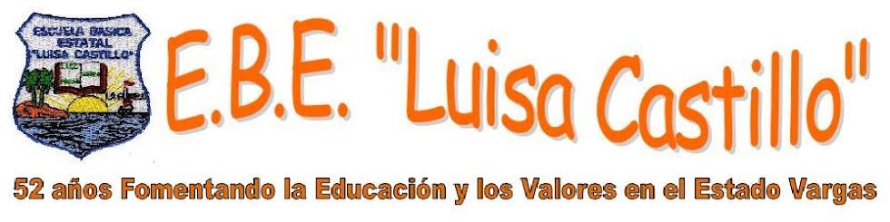 """E.B.E. """"Luisa Castillo"""""""