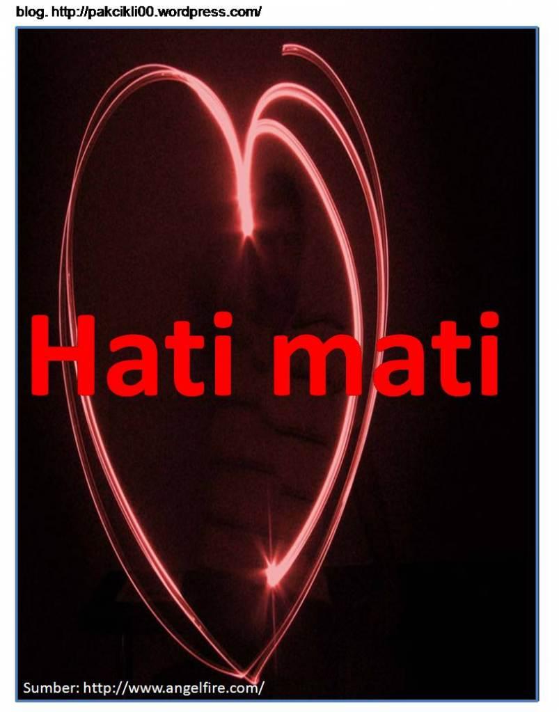 Hati Yang Telah Mati Hati Yang Sudah Mati Ialah
