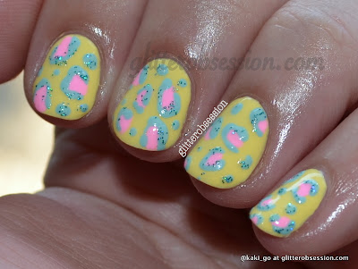 Lime Crime pastel animal print