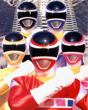 Power Rangers Space