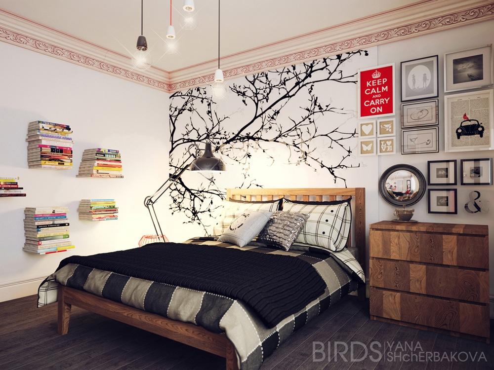 Deco chambre interieur chambres coucher avec des for Chambre 0 coucher