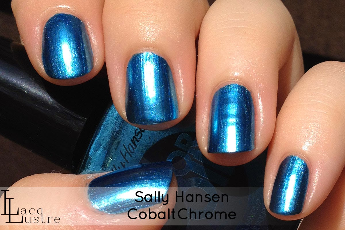 Sally Hansen Cobalt Chrome swatch
