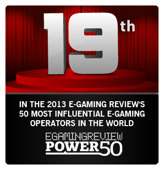 Dafabet is rank number 19 of the most influential e-gaming operators by EGaming Review.