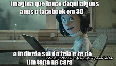 Mensagens e Imagens Engraçadas para Facebook Net 3D