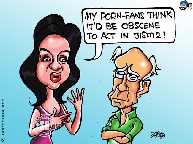Sunny Leone Funny Pics Photos