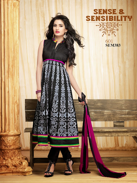 New Arrival Georgette Stylish Anarkali Suit