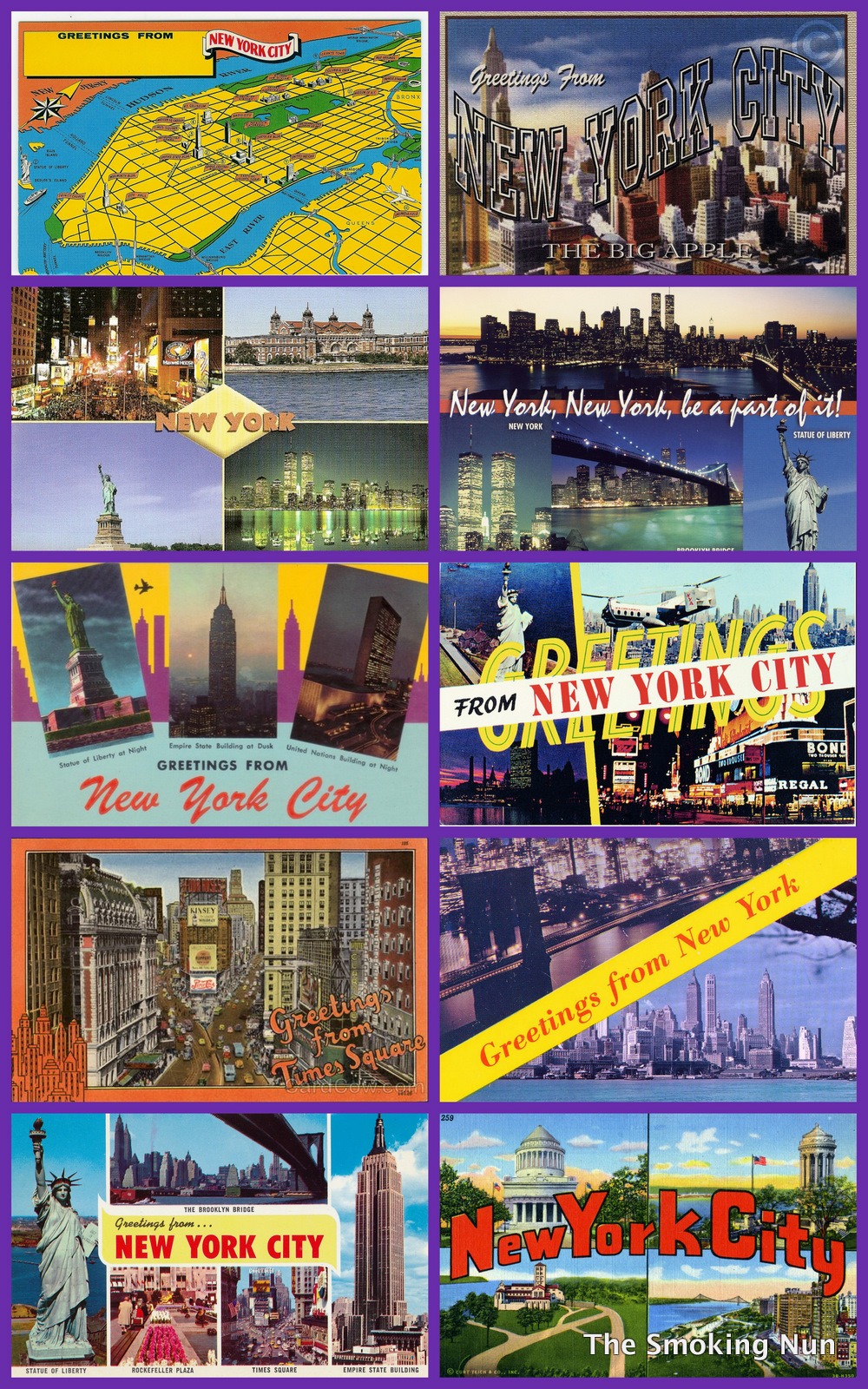 Nyc vintage nyc vintage image of the day greetings from new york 1970s and beyond kristyandbryce Images