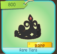 Hey Jammers! Its monday which means a rare item will be sold today only. Todays RIM is a \u0026quot;Rare Tiara\u0026quot; sold for 800 gems.