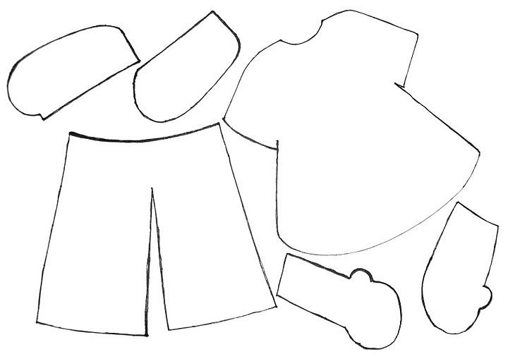 Bebés en goma eva moldes - Imagui