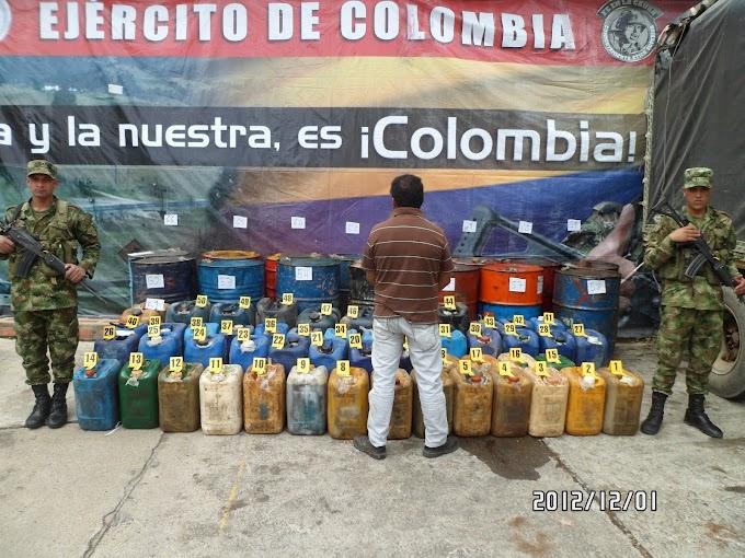 Tropas del Ejército incautaron nuevo contrabando de gasolina