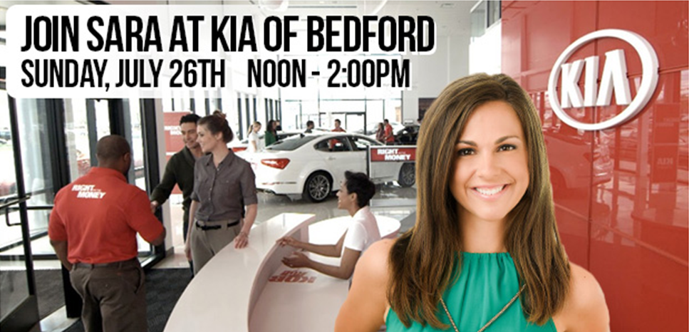 The Fish Mom Squad: Join Sara Carnes at Kia of Bedford 7 ...