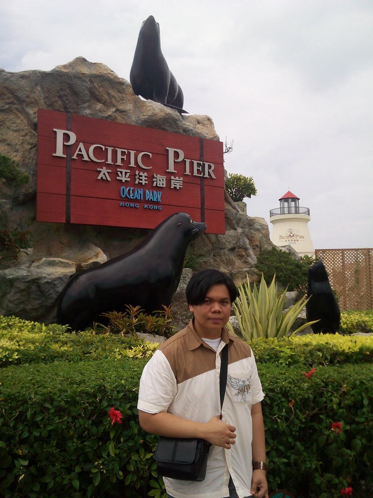 Hong Kong Ocean Park Pacific Pier