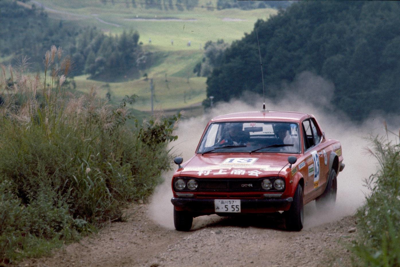 Nissan Skyline C10, rajdy, rally, wyścigi, 日産 スカイライン, ラリー, GT-R, rajdowe samochody, japońskie, motoryzacja