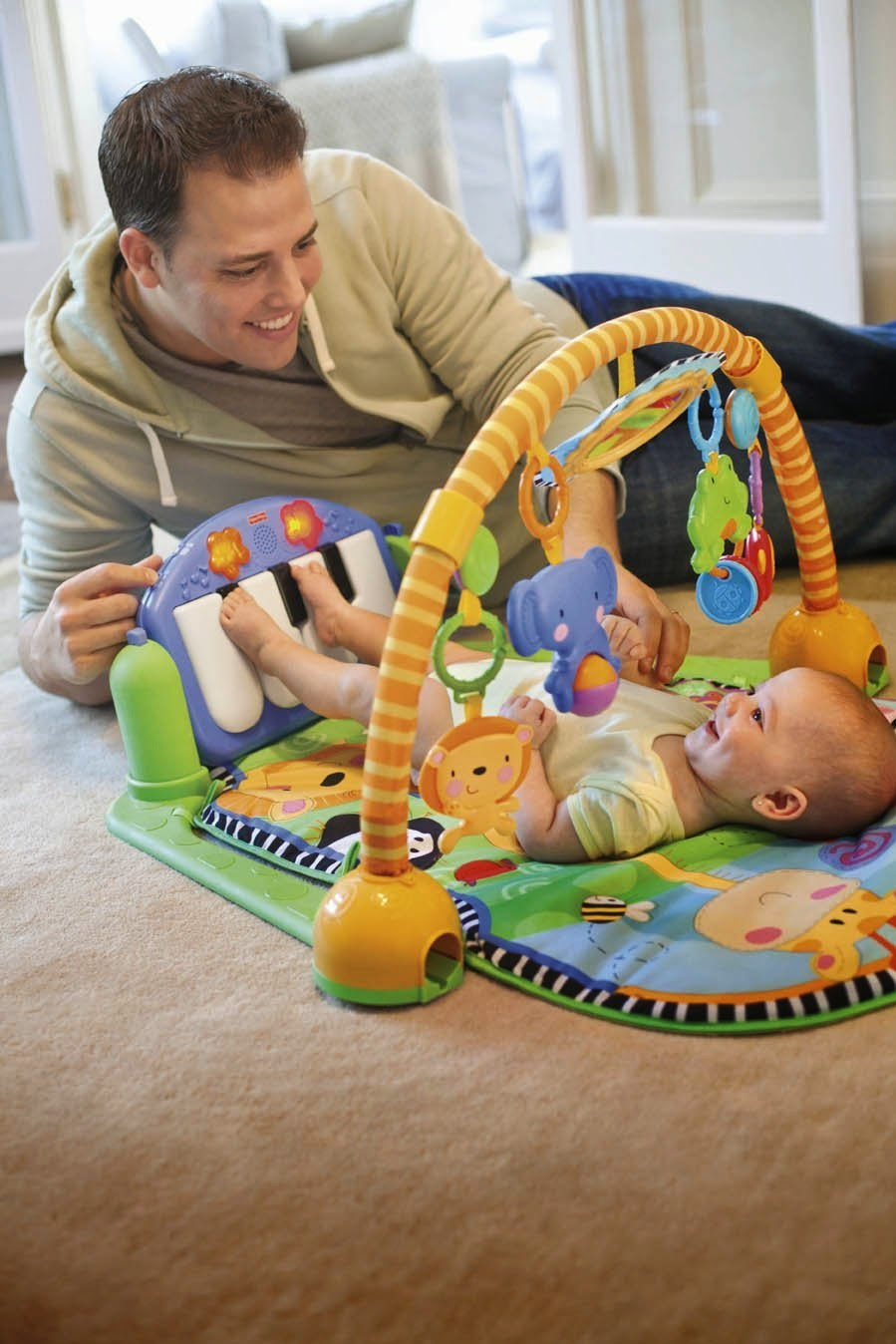 Libros y juguetes 1demagiaxfa toys bebes fisher for Gimnasio 6 meses