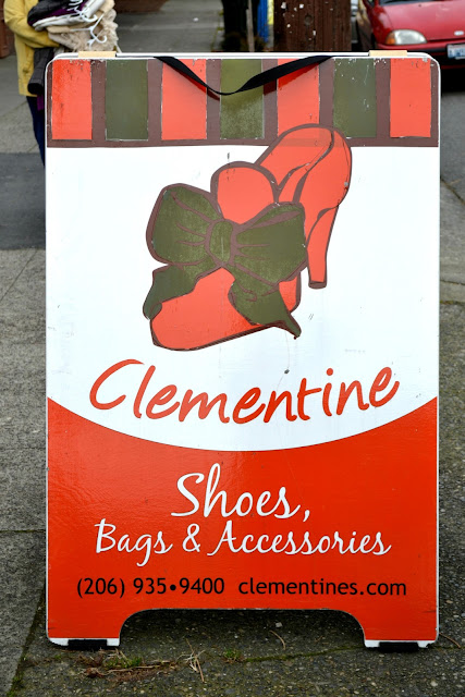 clementine's, shoes, west seattle, boutique, local, shopping