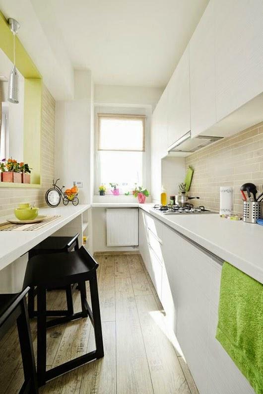 Insp rate cocinas estrechas tr s studio blog de - Cocinas largas y estrechas ...