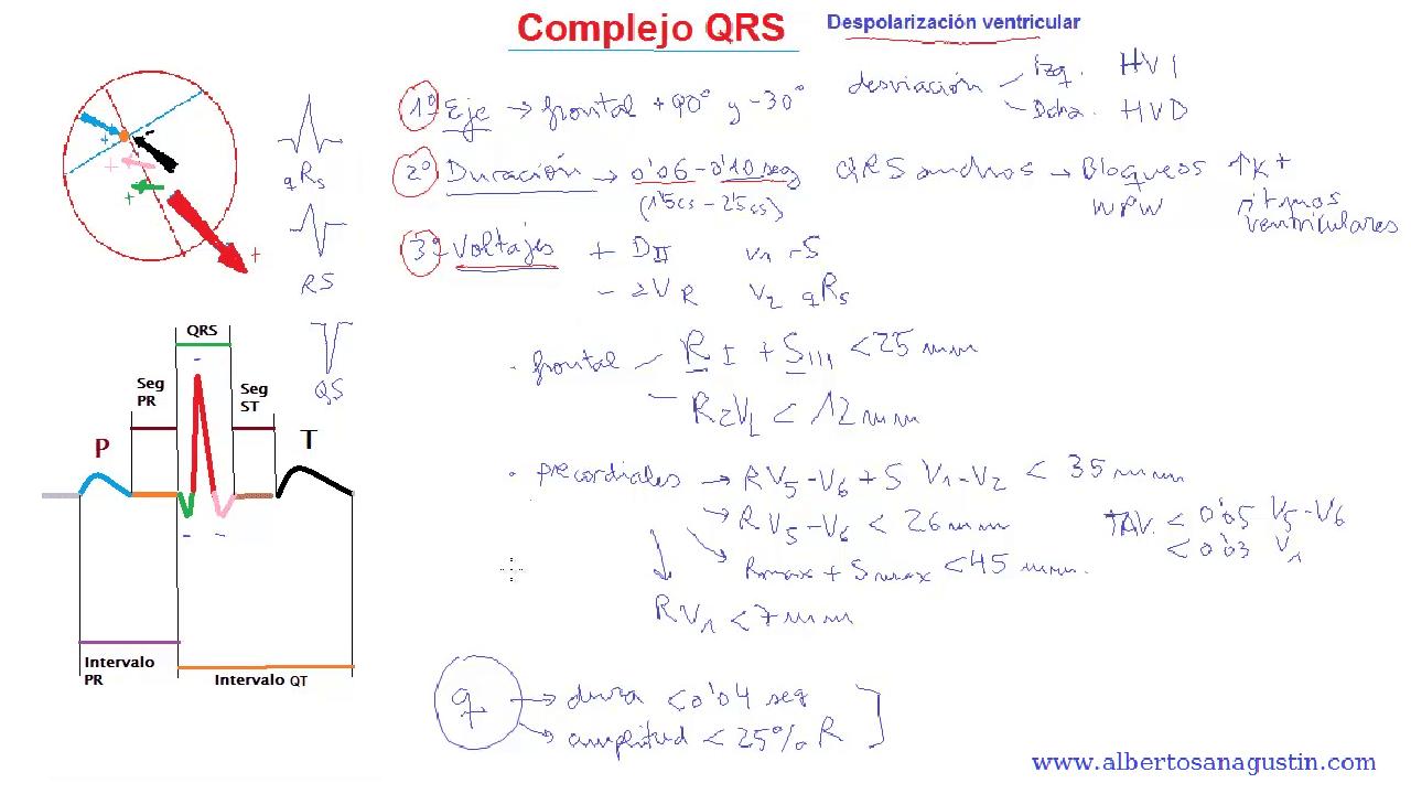 Electrocardiograma y complejo QRS