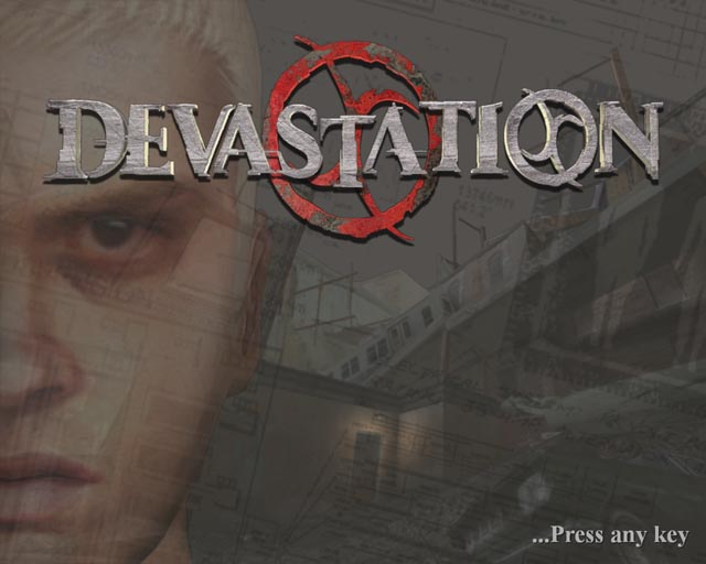 Devastation pc title screen