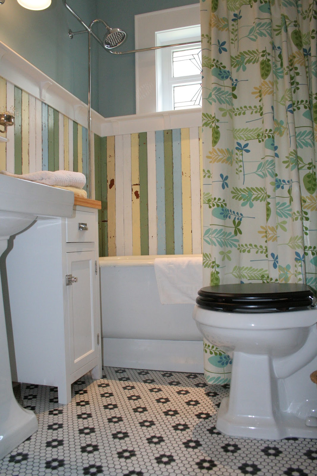 Fun house bathroom redo for Redo my bathroom
