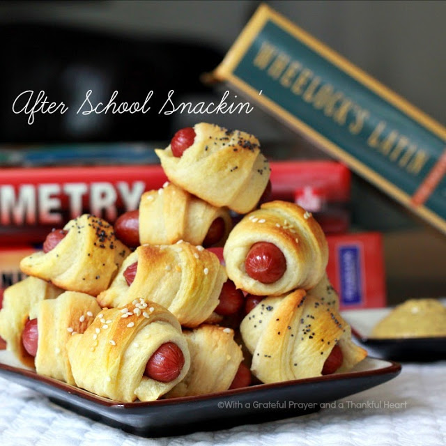 Pigs in a Blanket Appetizer snack