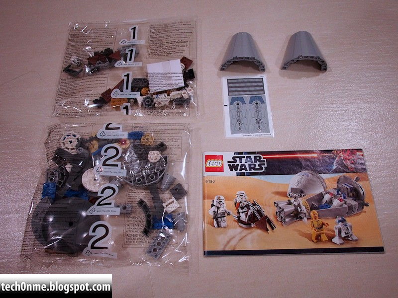 Tech On Me Lego Review Lego 9490 Droid Escape