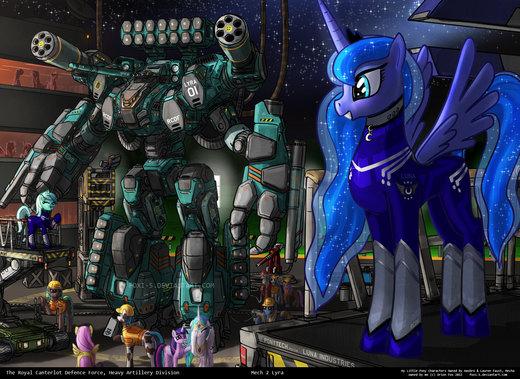 Lyra's Mech por Foxi-5