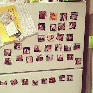 Stickygrams-on-fridge