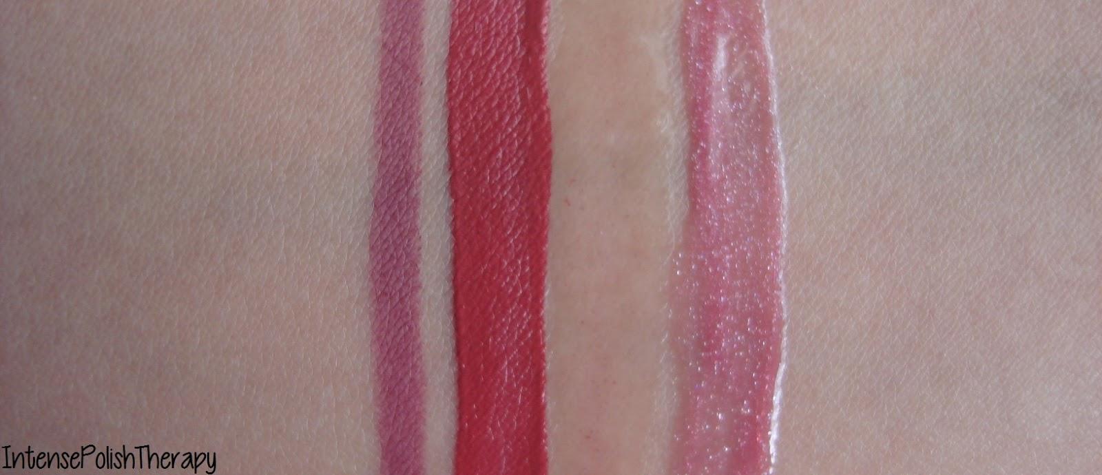 Passionate / Berry Lip Trio: Aqua Lip 10C, Aqua Rouge 50 (NEW shade) & Lab Shine Lip Gloss D4