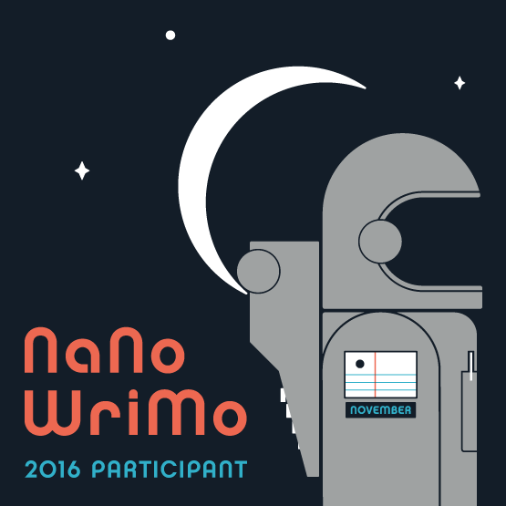 I'm Participating in NaNoWriMo 2016