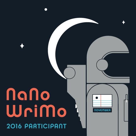 I'm Participating in NaNoWriMo 2016