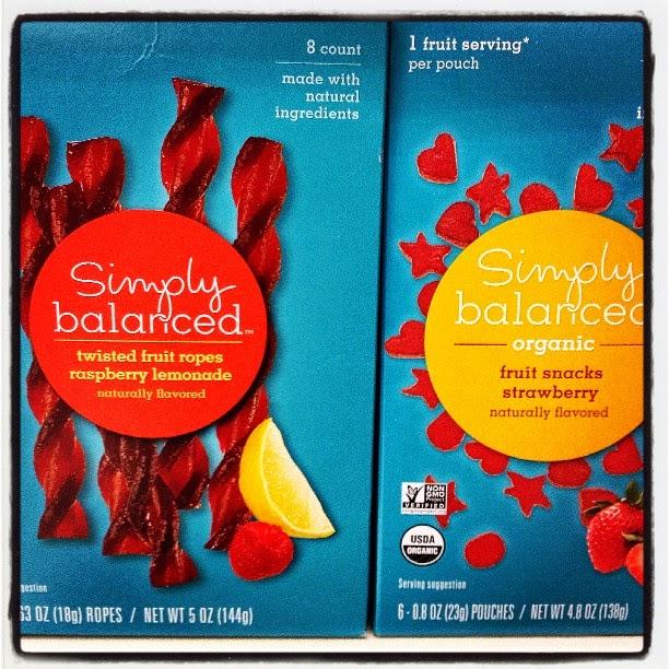 Plant Based Vegan Vegetarian Food Snacks Groceries Healthy at Target Simply Balanced Twisted Fruit Rope and Organic Fruit Snacks