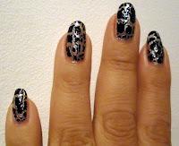 Grafiti Style Nails.