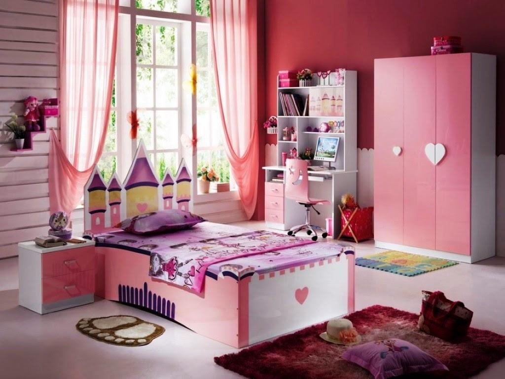 desain kamar tidur anak perempuan terbaru saat ini 1001