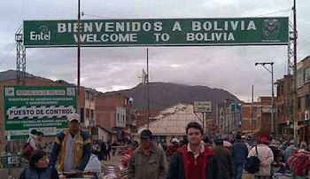 población fronteriza con Perú. cuando militares requisaban contrabando sonaron pitos