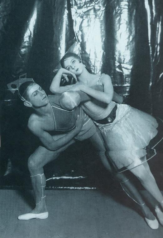 Serge Lifar e Alice Nikitina.