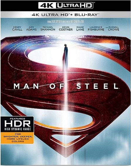 Man Of Steel 4K (El Hombre de Acero 4K) (2013) 2160p 4K UltraHD HDR REMUX 64GB mkv Dual Audio Dolby TrueHD ATMOS 7.1 ch