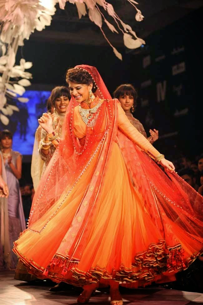 Jacqueline Fernandez at Lakme Fashion Week