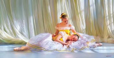 Pinturas Niñas Bailarinas de Balet