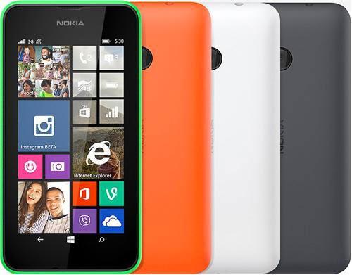 Harga HP Nokia Lumia 530 Terbaru dan Spesifikasi