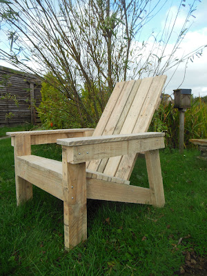 Garden furniture, DIY garden, adirondack furniture, chair