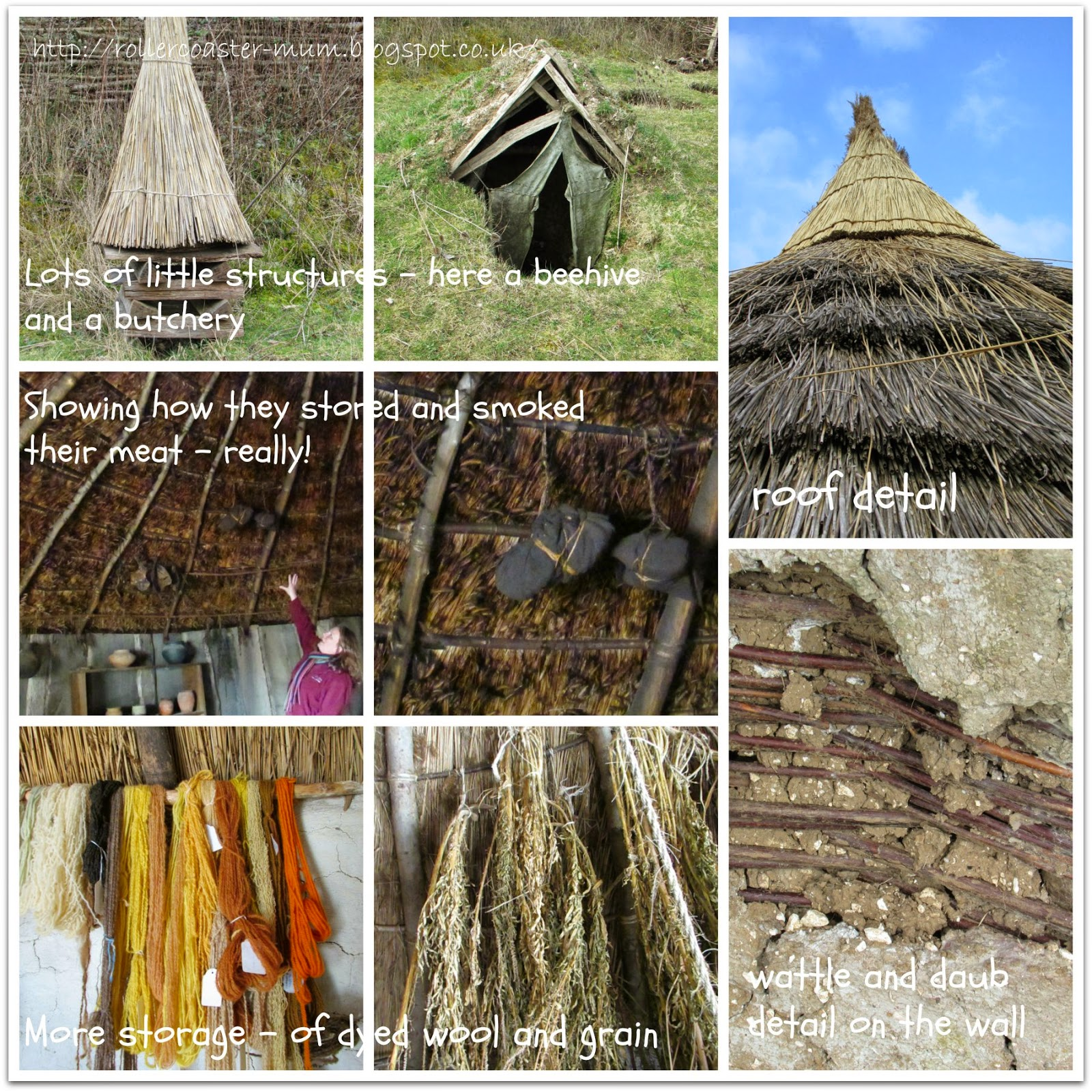 Living history, Celtic village, Butser Ancient Farm