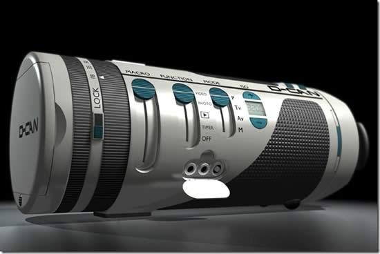 D Can Future Camera