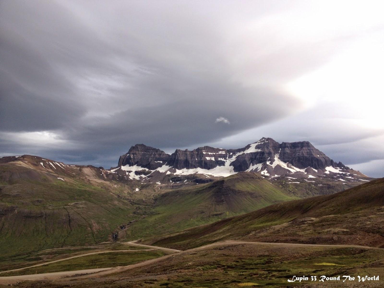 冰島自助旅行遊記照片Day7崎嶇的山路1