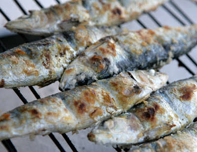 Sardinha grelhada light
