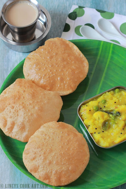 how to make bhaile poori