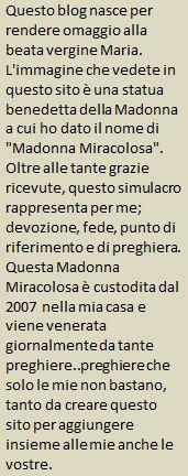Storia della Madonna Miracolosa