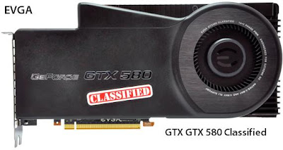 EVGA GTX 580 Classified