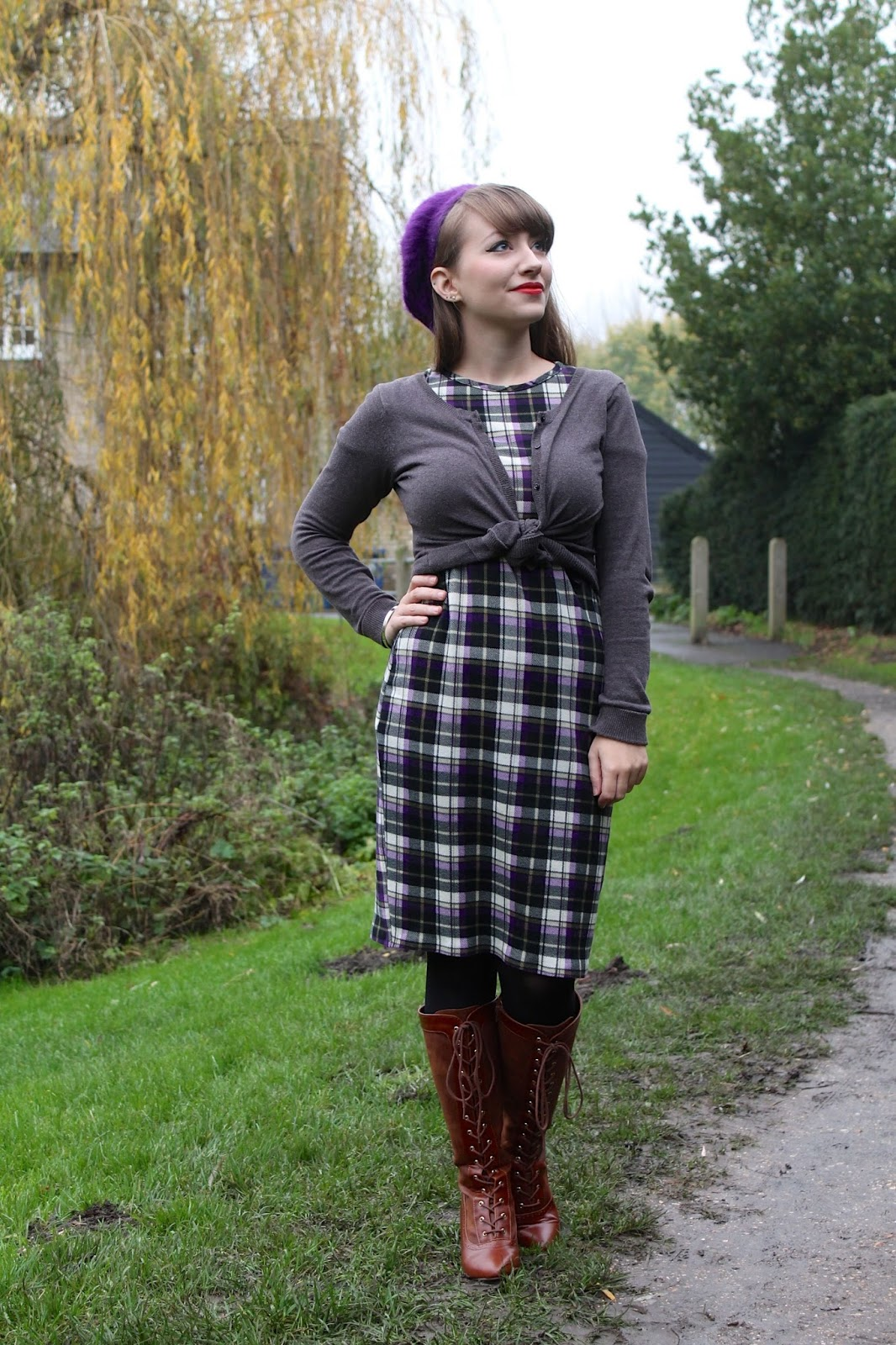 Knee-length BAIT boots for a cute vintage look