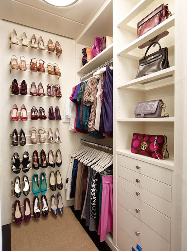 ... sempit pun boleh buat jugak walk in closet ni kalau kena caranya kan